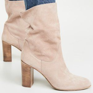 NWT Free People Dakota Suede Slouch Ankle Boot 10